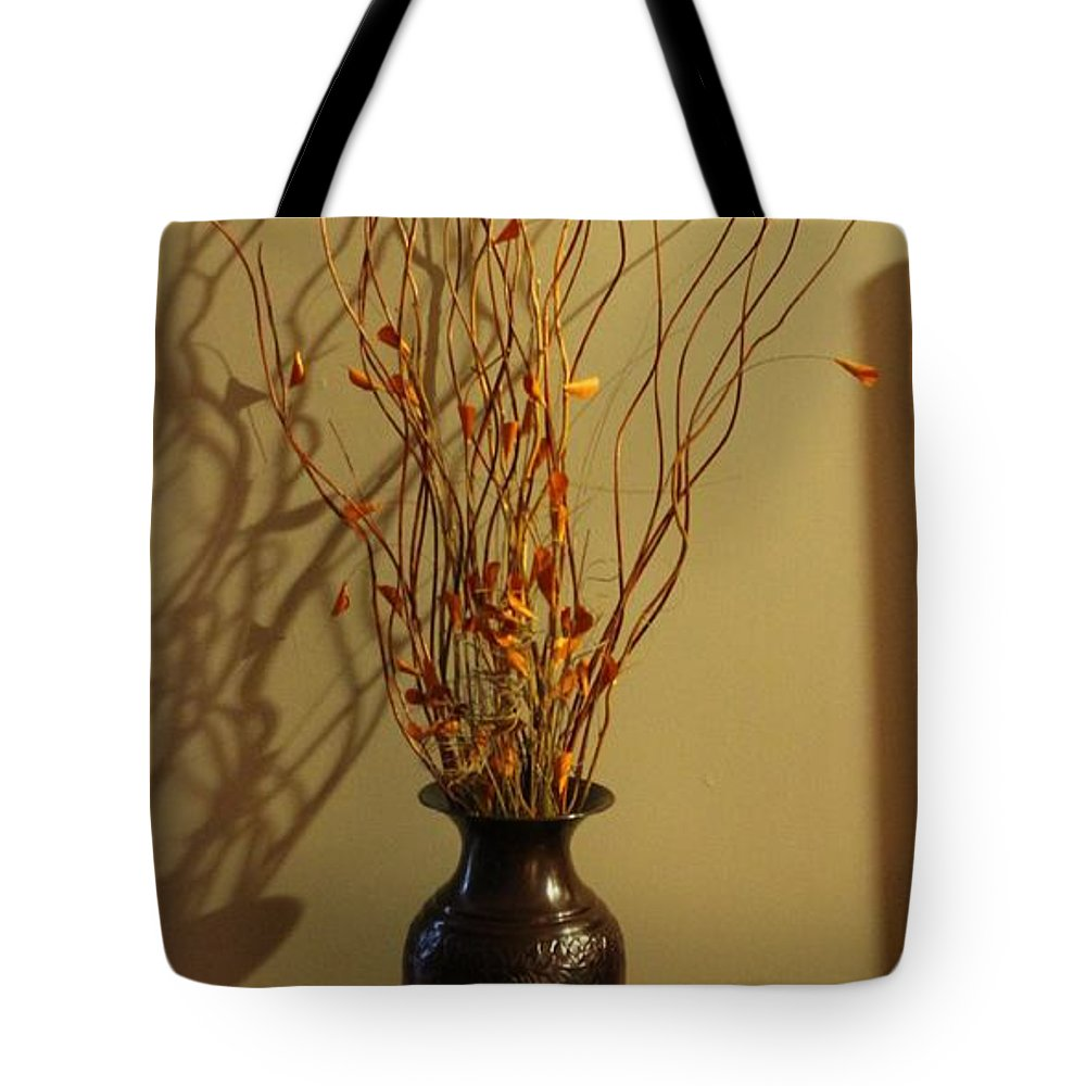 Decor Tote Bag featuring the photograph Decor by Debbie Levene