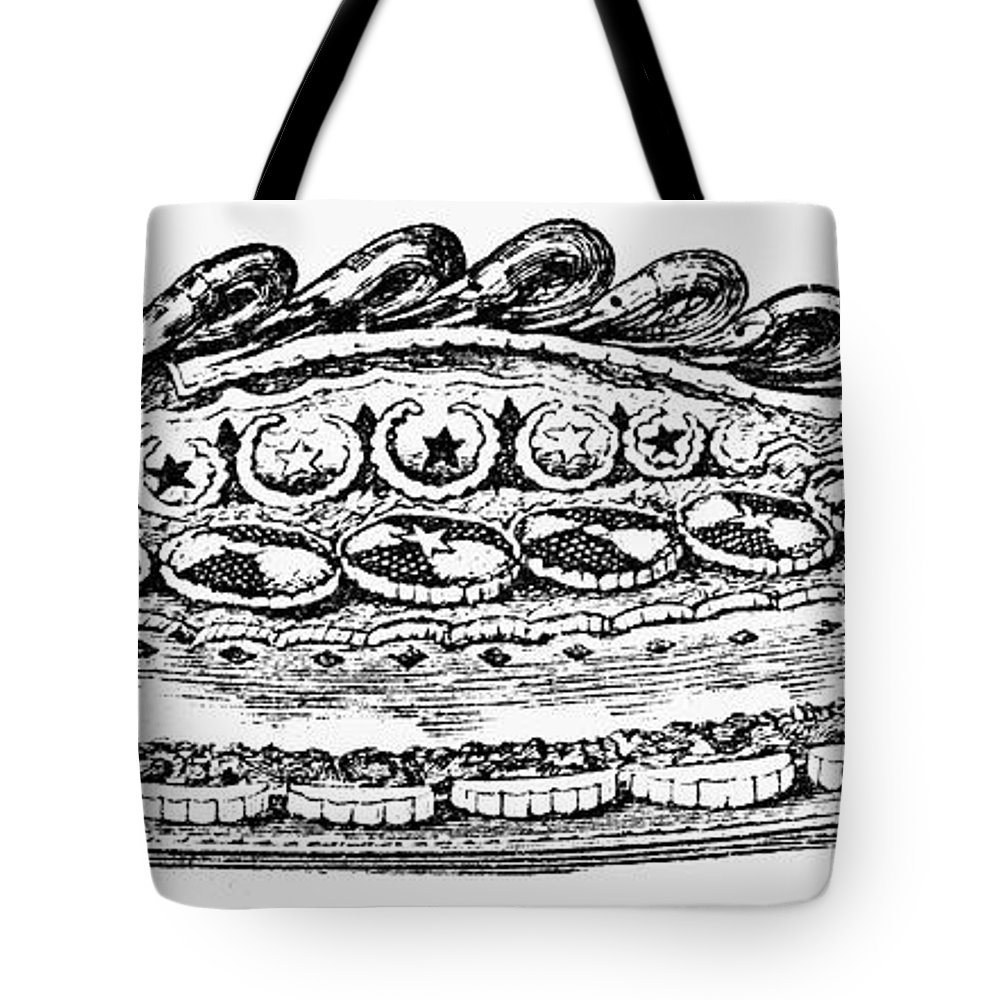 19th Century Tote Bag featuring the photograph Decorative French Cuisine by Granger