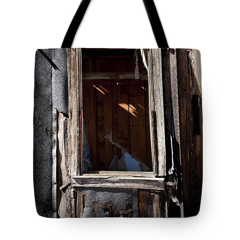 Old House Tote Bag featuring the photograph Decrepit 2 by Kelley King