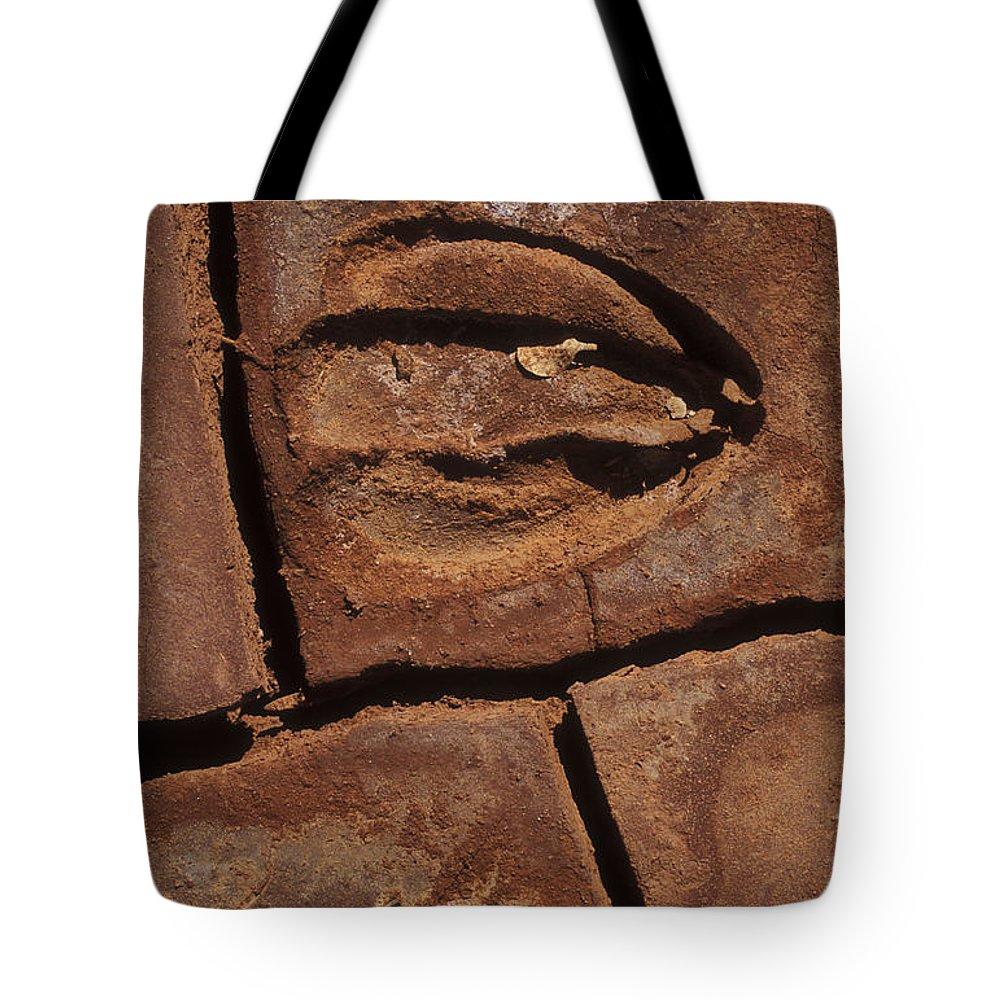 Sandra Bronstein Tote Bag featuring the photograph Deer Imprint In Mud by Sandra Bronstein