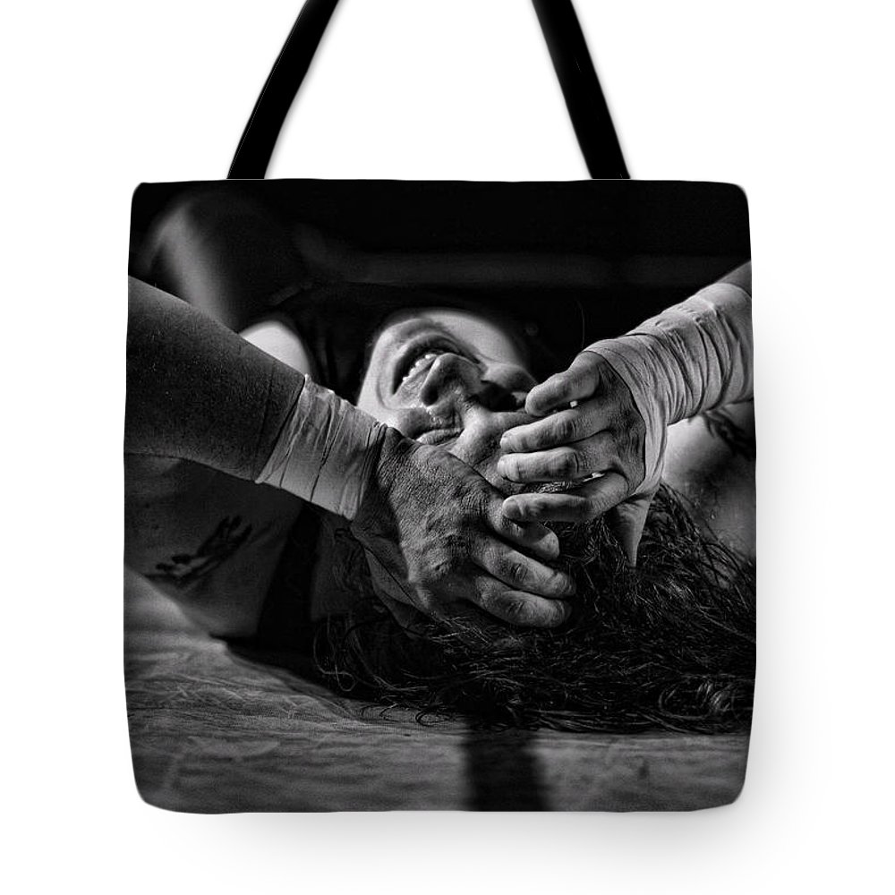 Man Tote Bag featuring the photograph Defeated No. 2 by David Sanchez