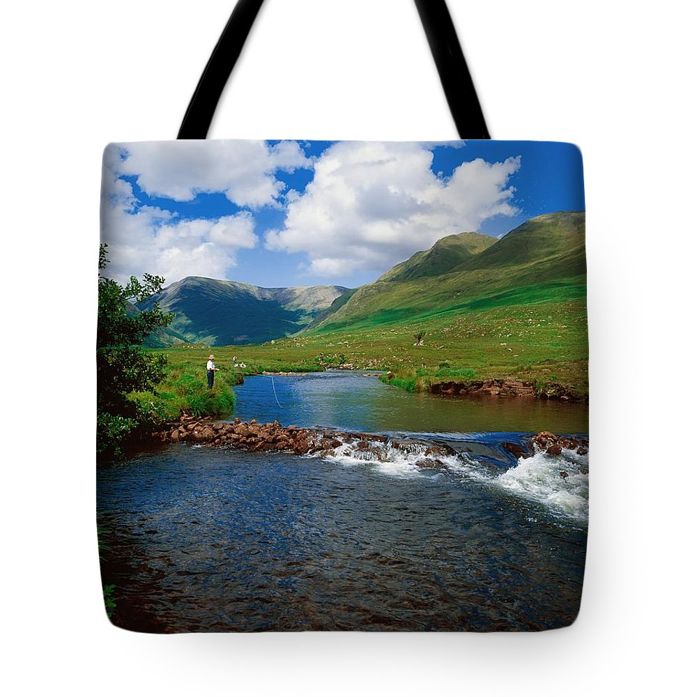 Delphi Tote Bag featuring the photograph Delphi Fishery, Co Mayo, Ireland by The Irish Image Collection