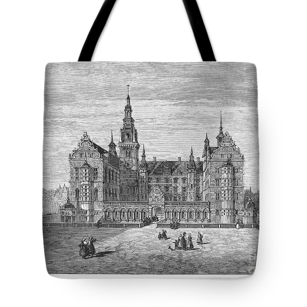 1863 Tote Bag featuring the photograph Denmark: Frederiksborg by Granger