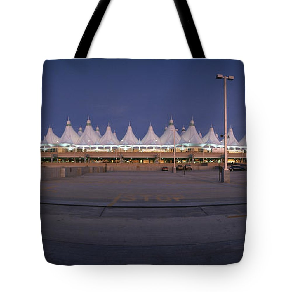 North America Tote Bag featuring the photograph Denver International Airport, Colorado by Michael S. Lewis