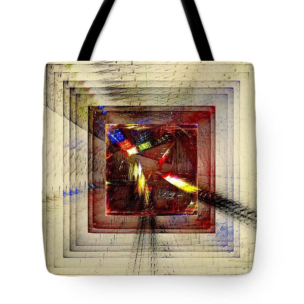 Freedom Tote Bag featuring the digital art Desire For Freedom by Klara Acel