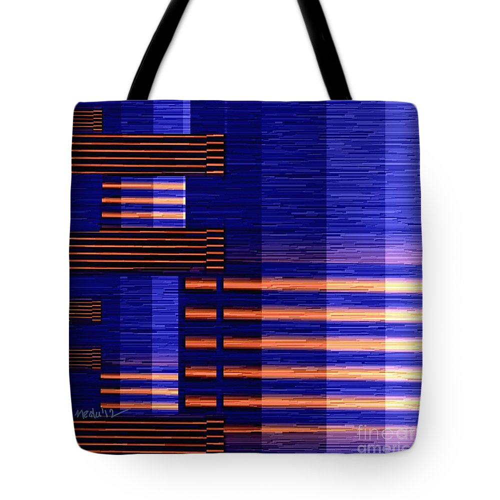 Paintings Tote Bag featuring the painting Digital Design 388 by Nedunseralathan R