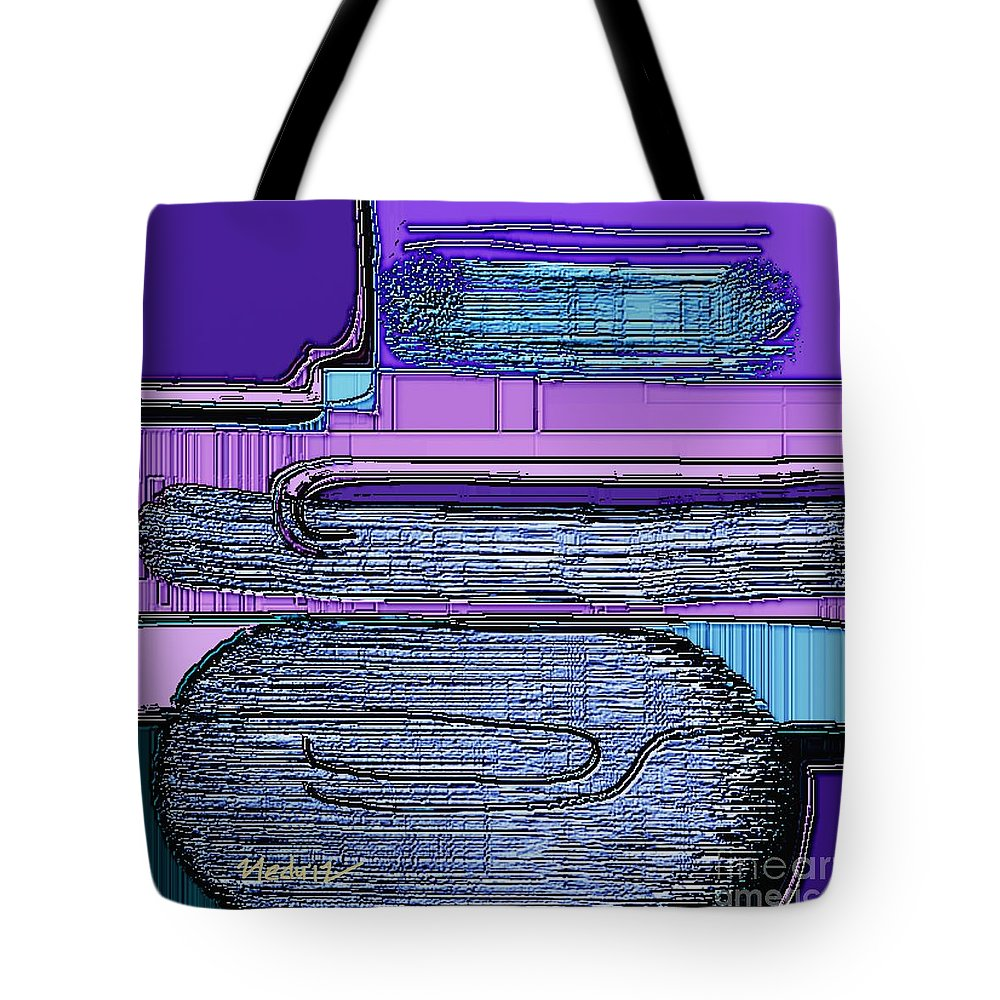 Paintings Tote Bag featuring the painting Digital Design 460 by Nedunseralathan R