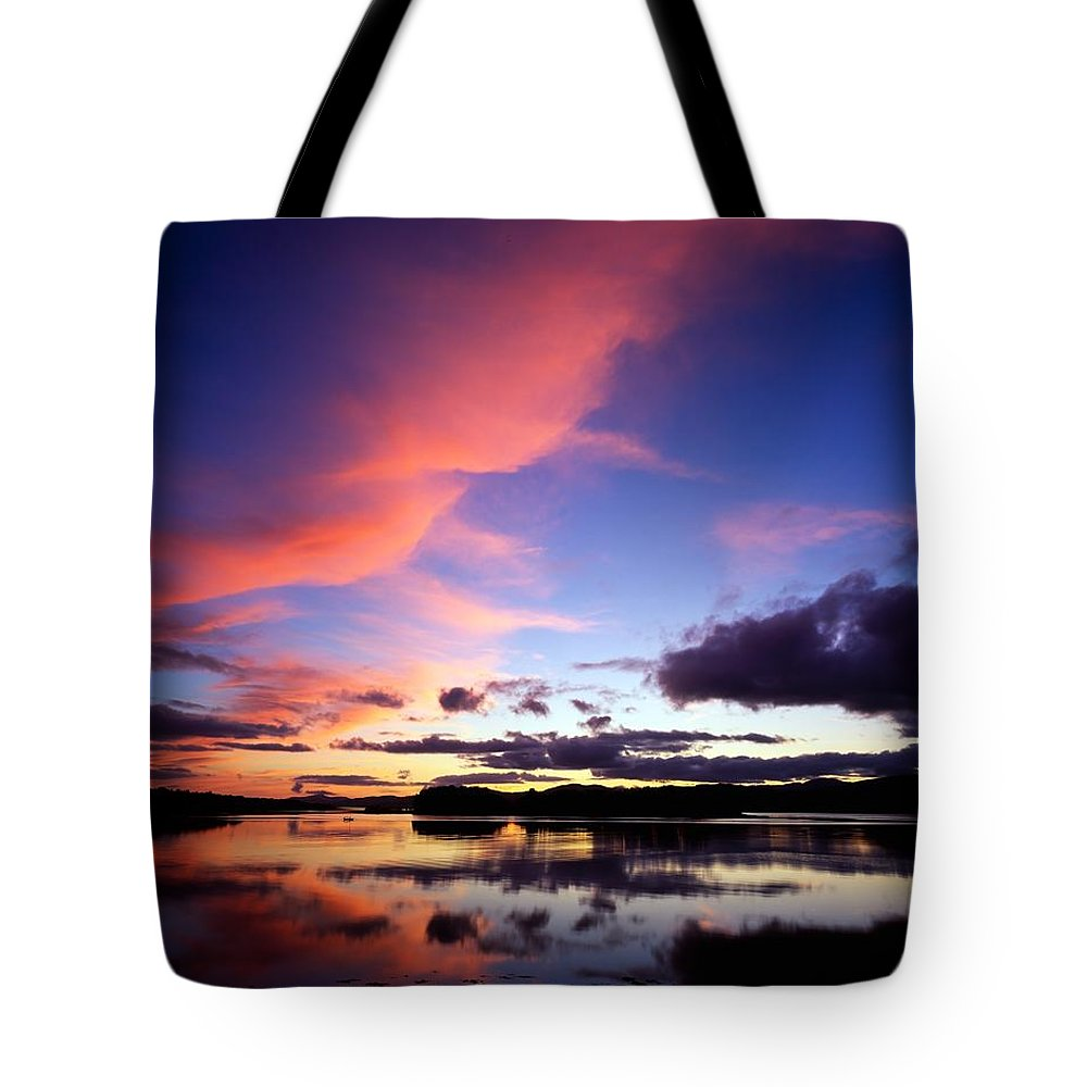 Dinish Island Tote Bag featuring the photograph Dinish Island, Near Kenmare, Ring Of by The Irish Image Collection