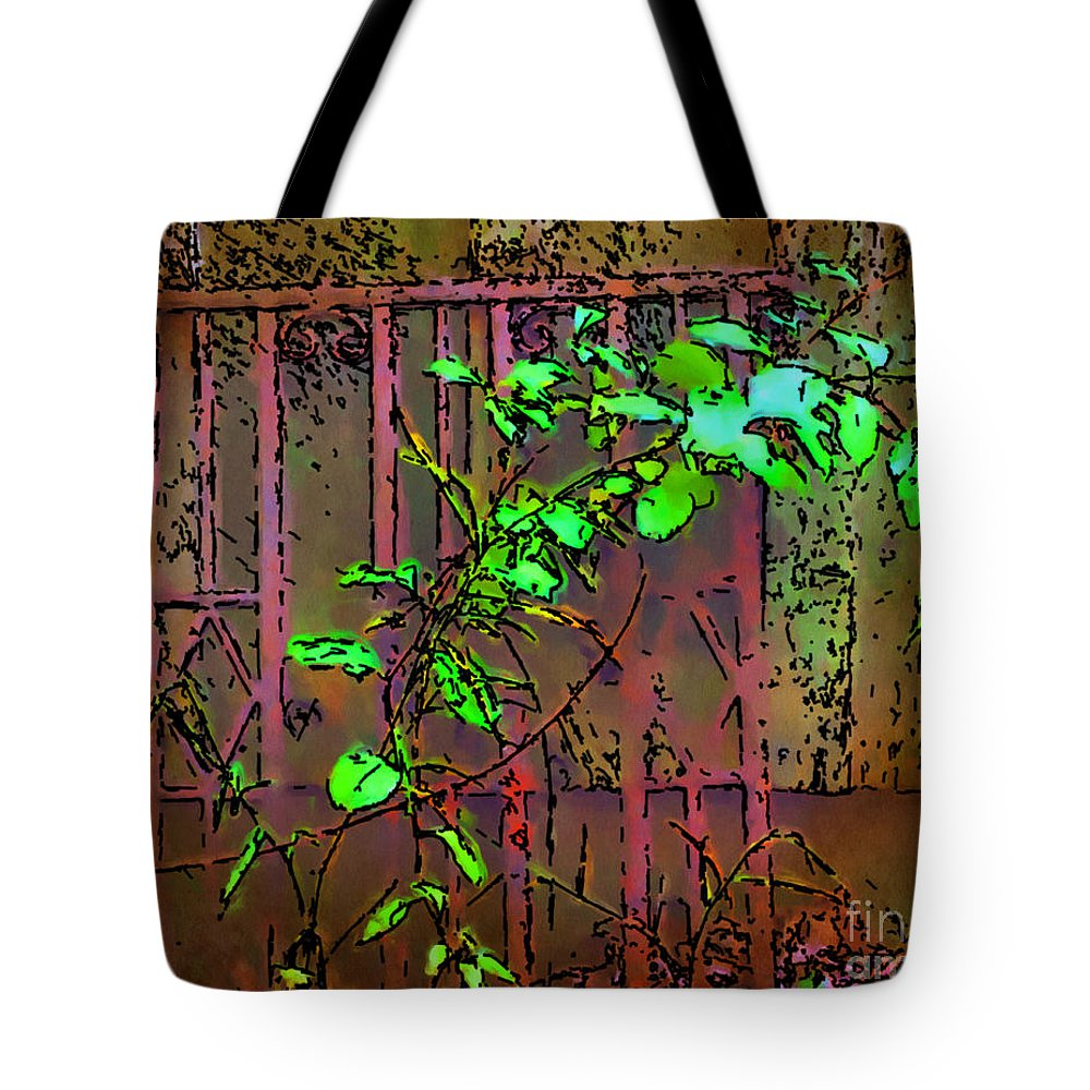 Watercolor Tote Bag featuring the painting Discarded by Smilin Eyes Treasures