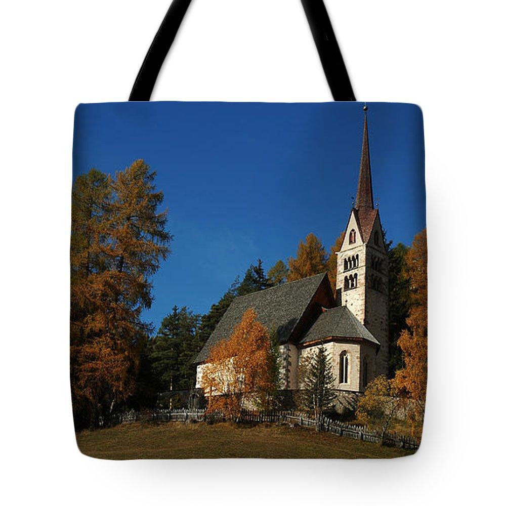 Landscape Tote Bag featuring the photograph Dolomiti by Celiane Osimo