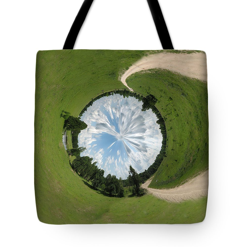 Tunnel Tote Bag featuring the photograph Dome Of The Sky by Nikki Marie Smith