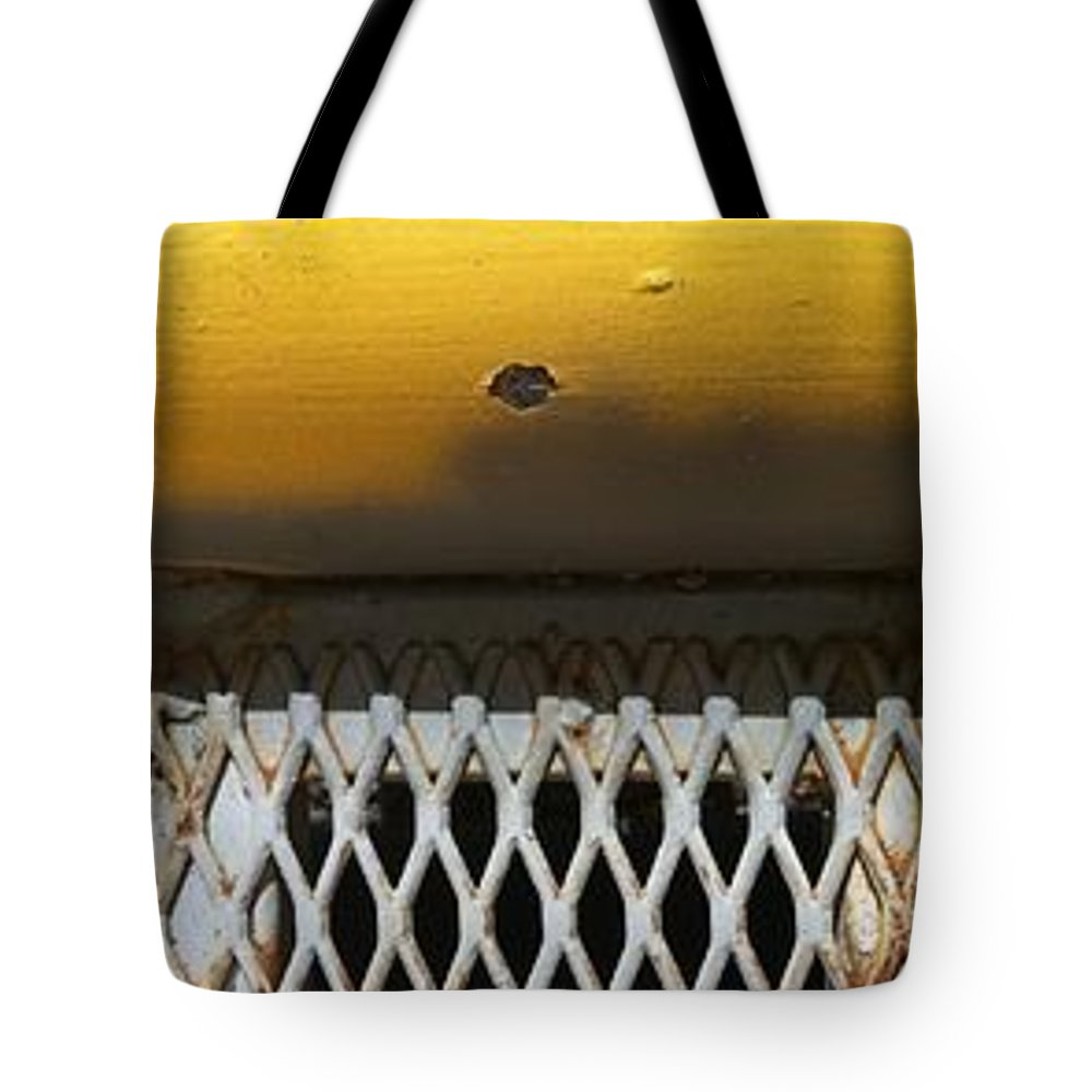 Fences Tote Bag featuring the photograph Dont Fence Me In by Marlene Burns