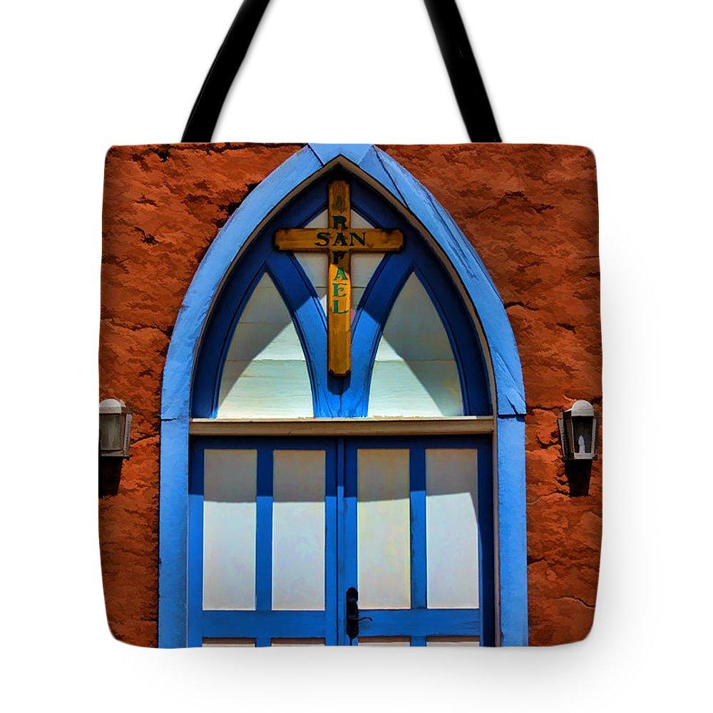 Door Tote Bag featuring the photograph Doors To San Rafael by David Sanchez