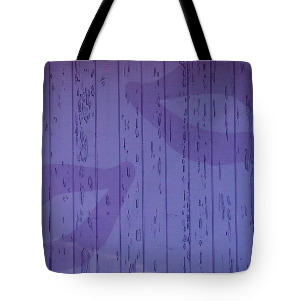 Purple Tote Bag featuring the photograph Double Lips by Rob Hans