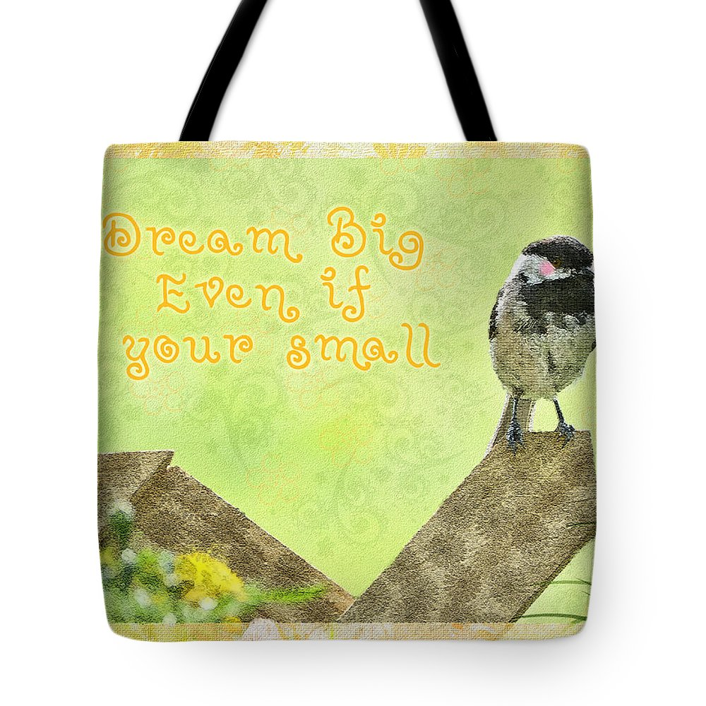 Animals Tote Bag featuring the photograph Dream Big by Debbie Portwood