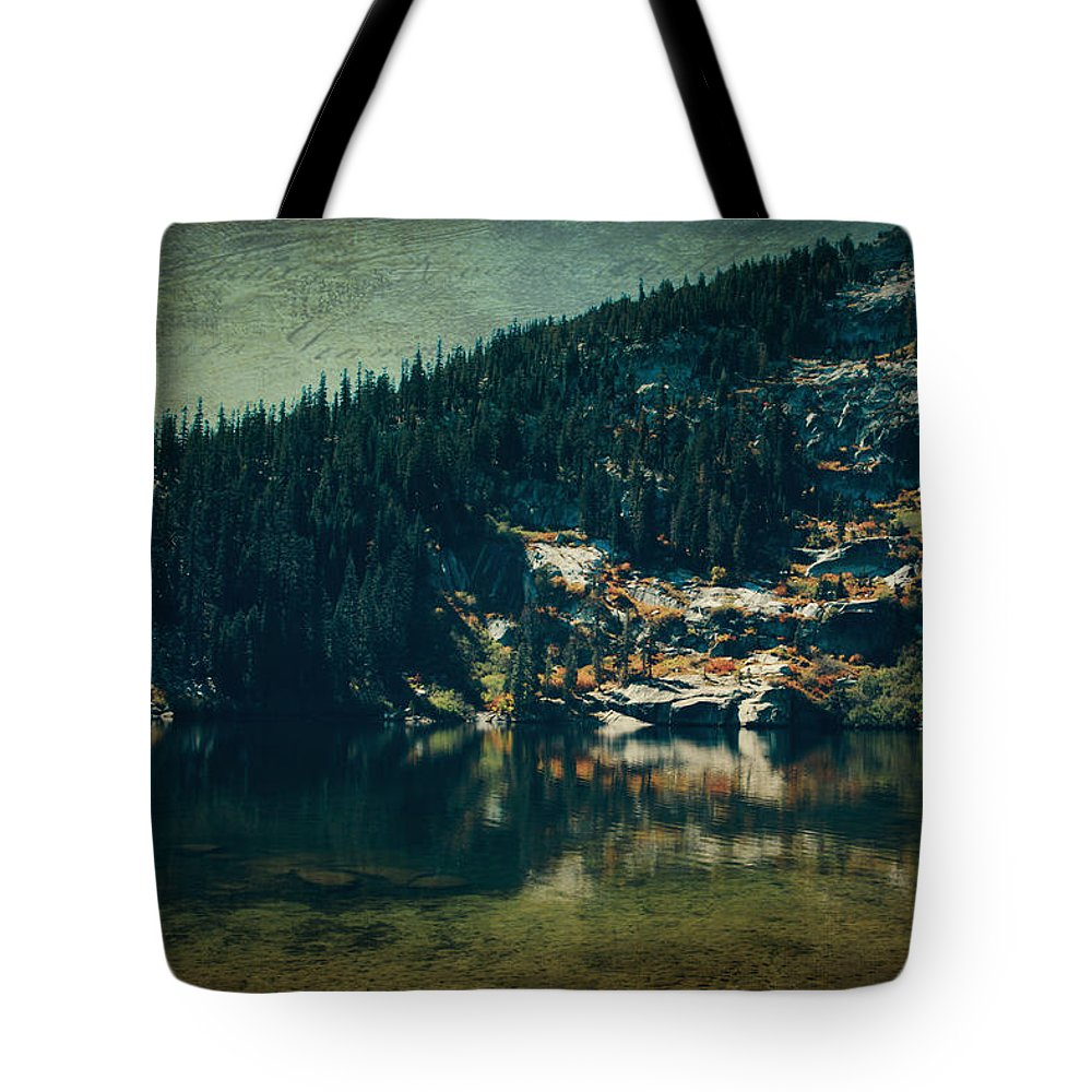 Upper Angora Lake Tote Bag featuring the photograph Dreams That Die by Laurie Search