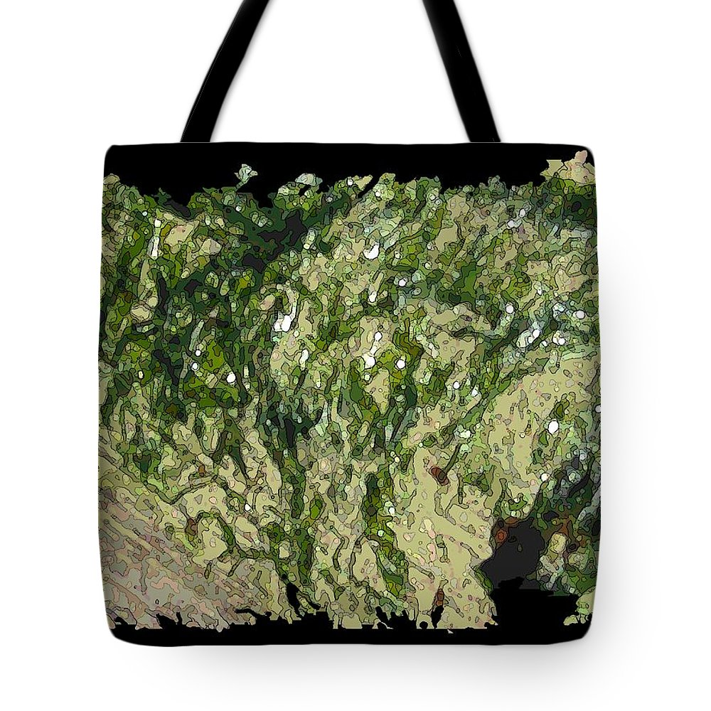Driftwood Tote Bag featuring the digital art Driftwood Study 3 by Tim Allen