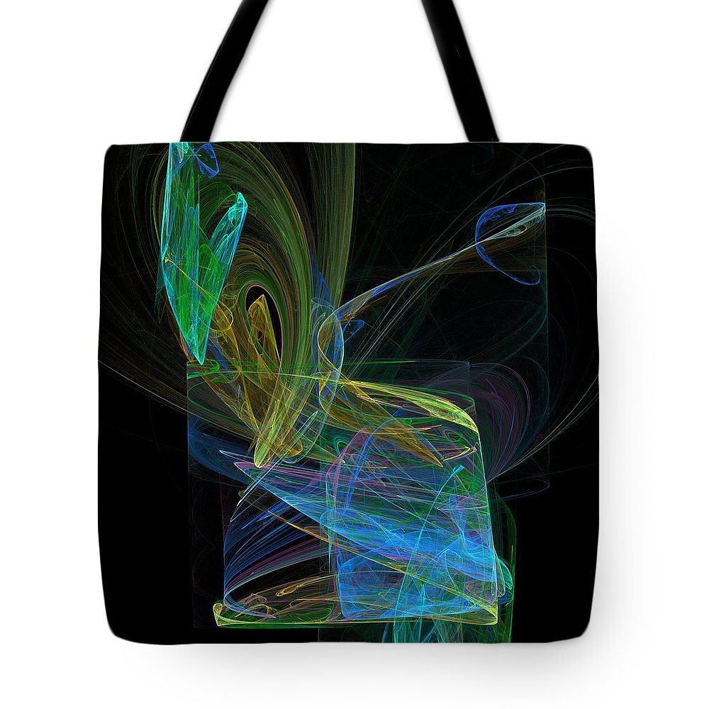 Digital Art Tote Bag featuring the digital art Drunk by Christy Leigh