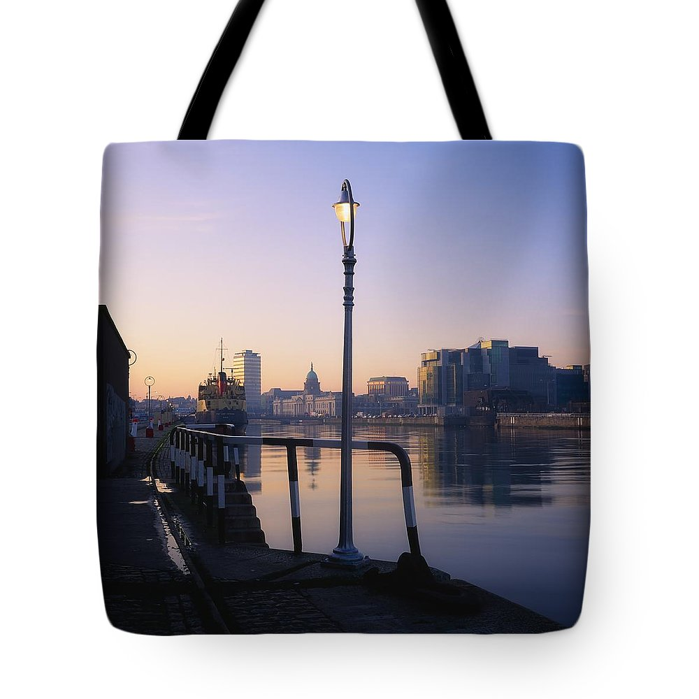 City Tote Bag featuring the photograph Dublin, Co Dublin, Ireland by The Irish Image Collection