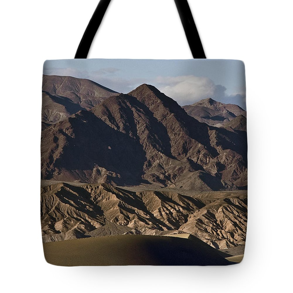 Dunes Of Death Valley Tote Bag featuring the photograph Dunes Of Death Valley by Wes and Dotty Weber