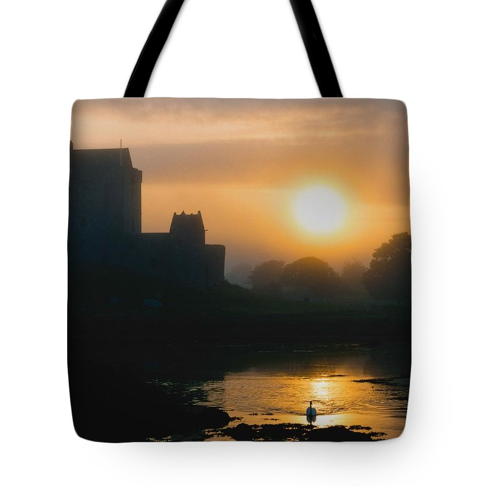 Outdoors Tote Bag featuring the photograph Dunguaire Castle, Kinvara, Co Galway by The Irish Image Collection
