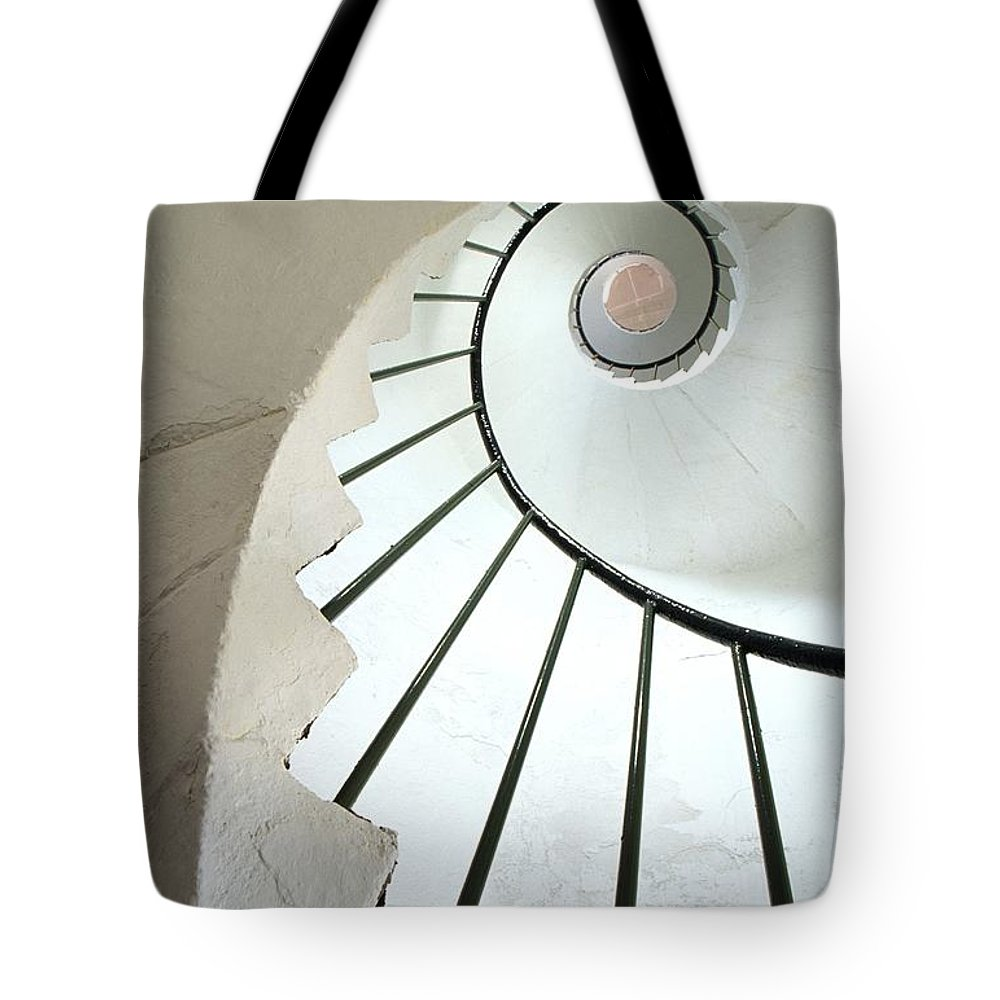 Architectural Detail Tote Bag featuring the photograph Dunmore East, County Waterford, Ireland by Richard Cummins