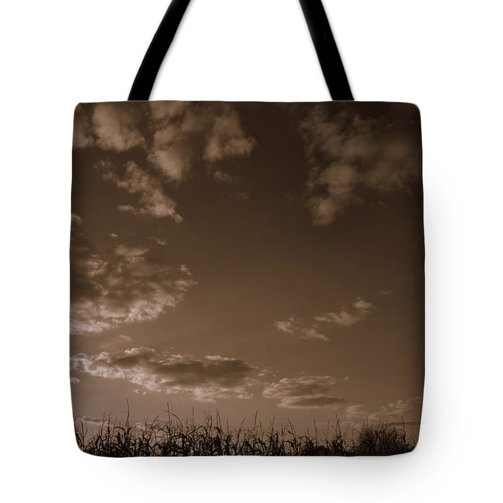 Dusk Tote Bag featuring the photograph Dusk by Ed Smith