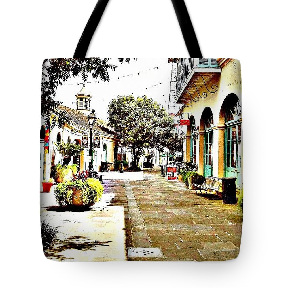 New Orleans Tote Bag featuring the photograph Dutch Alley by Jackie Jackson