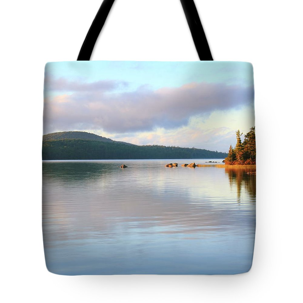 Eagle Lake Tote Bag featuring the photograph Eagle Lake by Roupen Baker