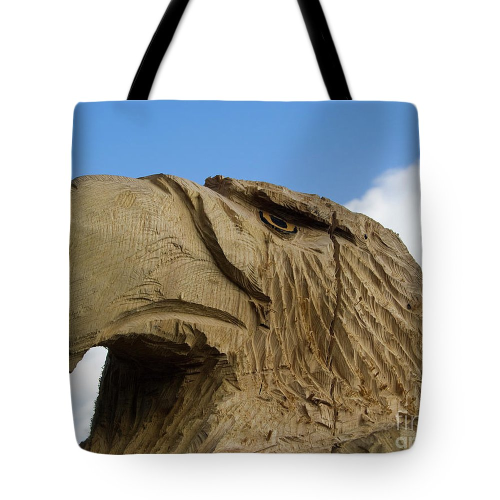 Eagle Tote Bag featuring the photograph Eagle by Steev Stamford