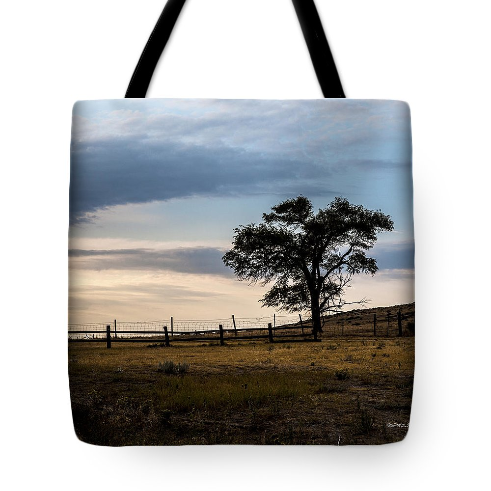 Western Nebraska Tote Bag featuring the photograph Early Morning by Edward Peterson