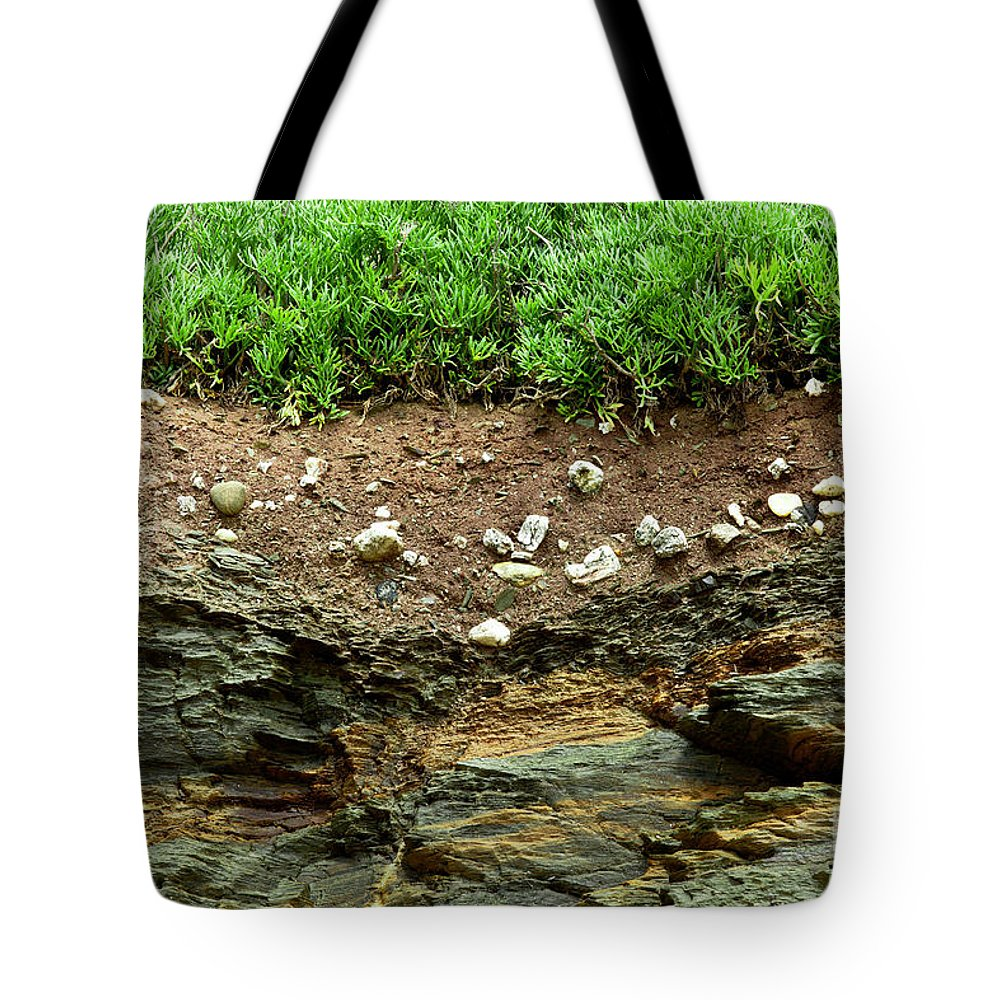Earth Tote Bag featuring the photograph Earth Cross Section by Simon Bratt Photography LRPS