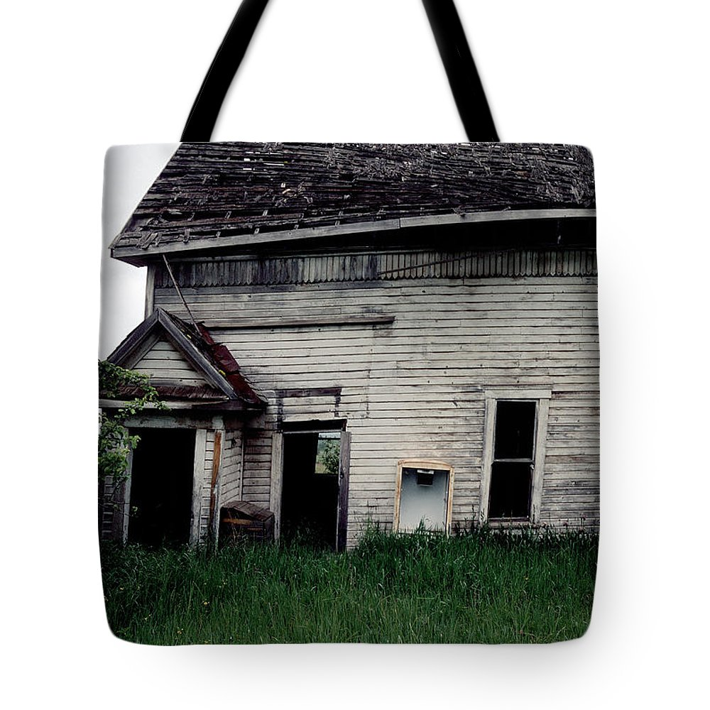Linden Idaho Tote Bag featuring the photograph Earth Reclaims by Sharon Elliott
