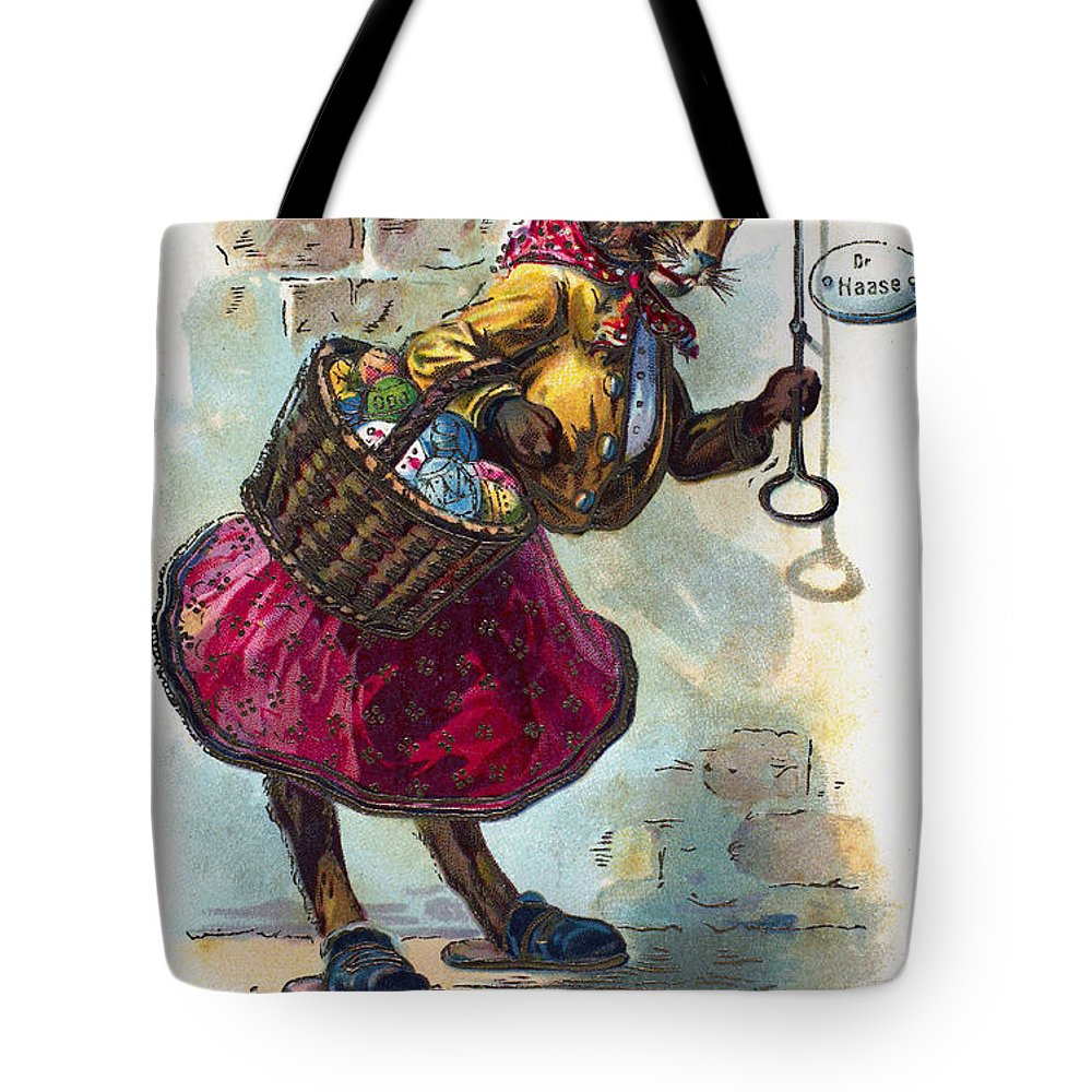 19th Century Tote Bag featuring the photograph Easter Card by Granger