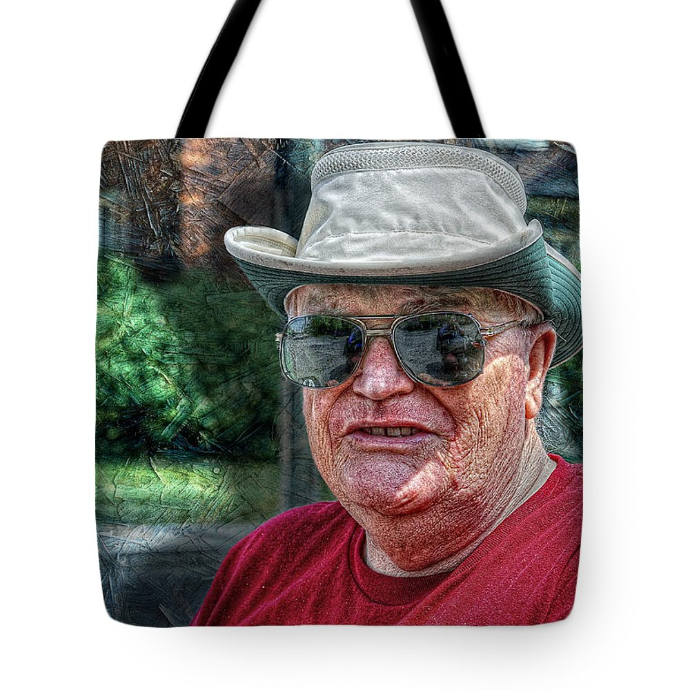 Napanee; xdop Tote Bag featuring the photograph Ed by John Herzog