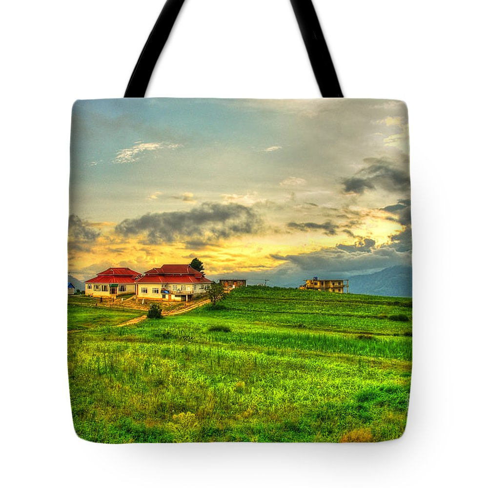 Scenery Tote Bag featuring the photograph Eden by Syed Aqueel