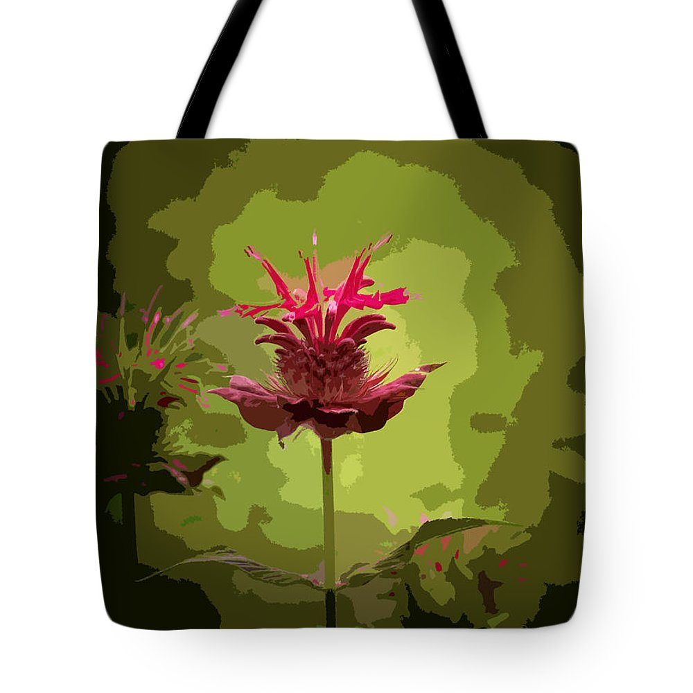 Flower Tote Bag featuring the photograph Editing With One Eye Open by Trish Tritz