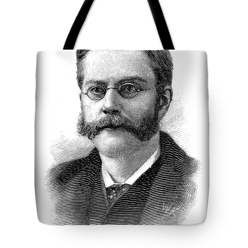 1894 Tote Bag featuring the photograph Edward Holden (1846-1914) by Granger