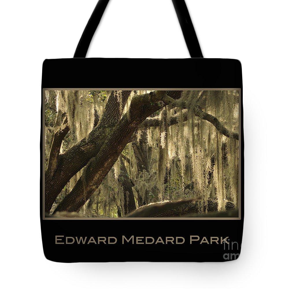 Medard Tote Bag featuring the photograph Edward Medard Park by Nancy Greenland