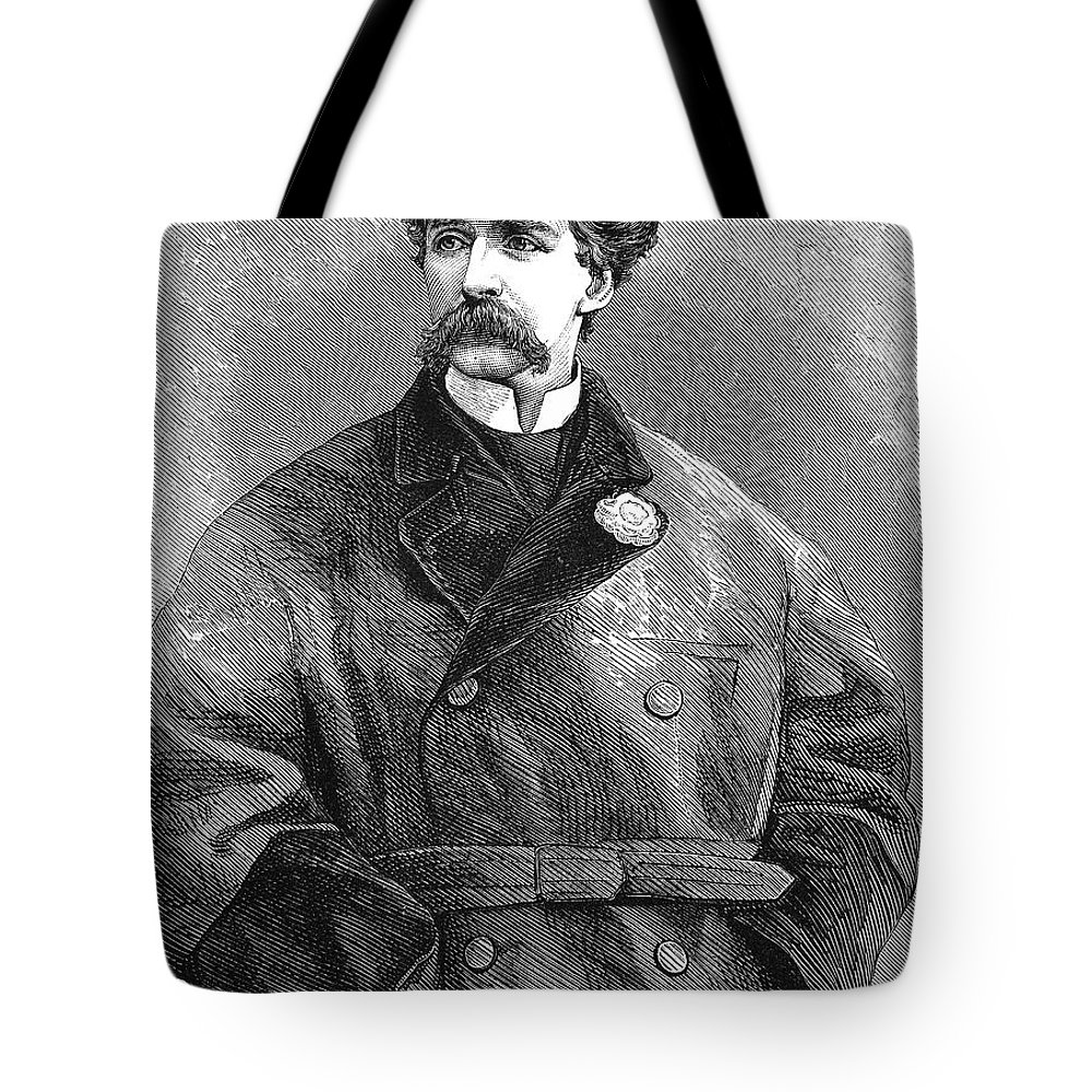19th Century Tote Bag featuring the photograph Edward Sothern (1826-1881) by Granger