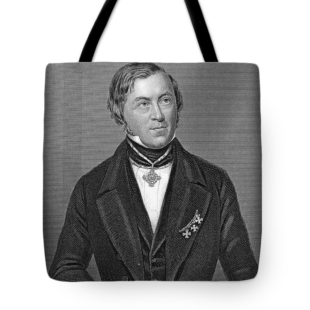 19th Century Tote Bag featuring the photograph Eilhardt Mitscherlich by Granger