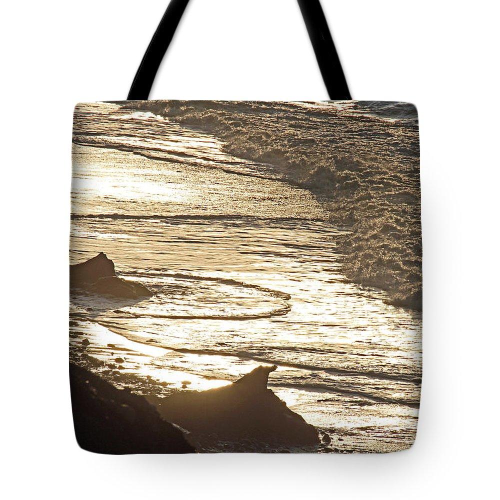 Beach Tote Bag featuring the photograph Eldorado Beach by Marie Jamieson