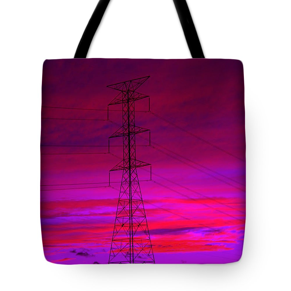 Electric Dreams Tote Bag featuring the photograph Electric Dreams by Ed Smith