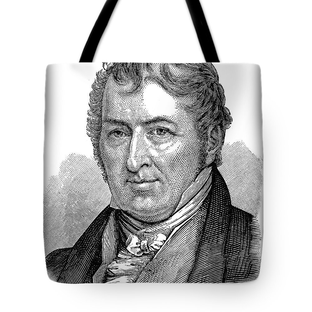 18th Century Tote Bag featuring the photograph Eli Whitney (1765-1825) by Granger
