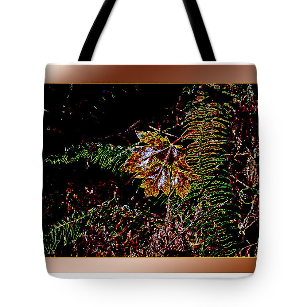 Leaves Tote Bag featuring the photograph Elwha Leaf by Marie Jamieson