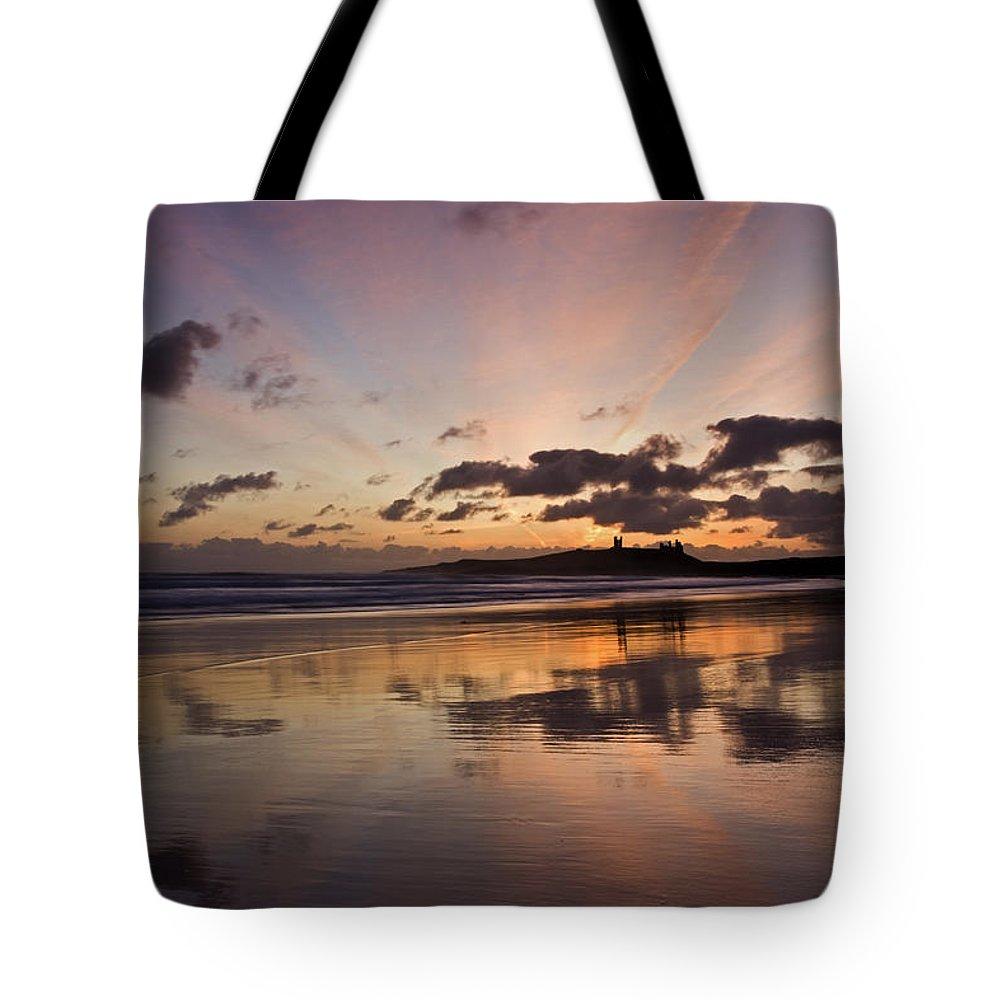 Embleton Tote Bag featuring the photograph Embleton Bay Sunrise by David Pringle