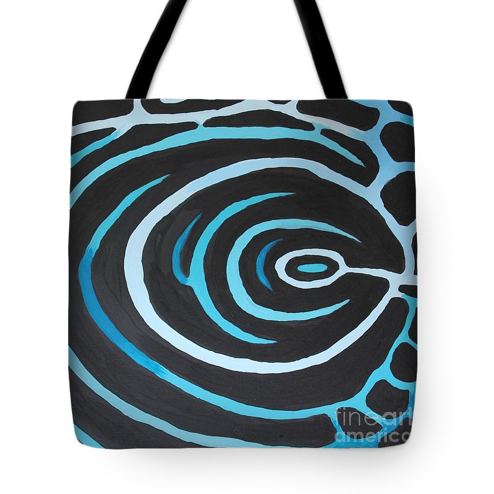 Painting Tote Bag featuring the painting Emperor Angelfish by Lee Alexander