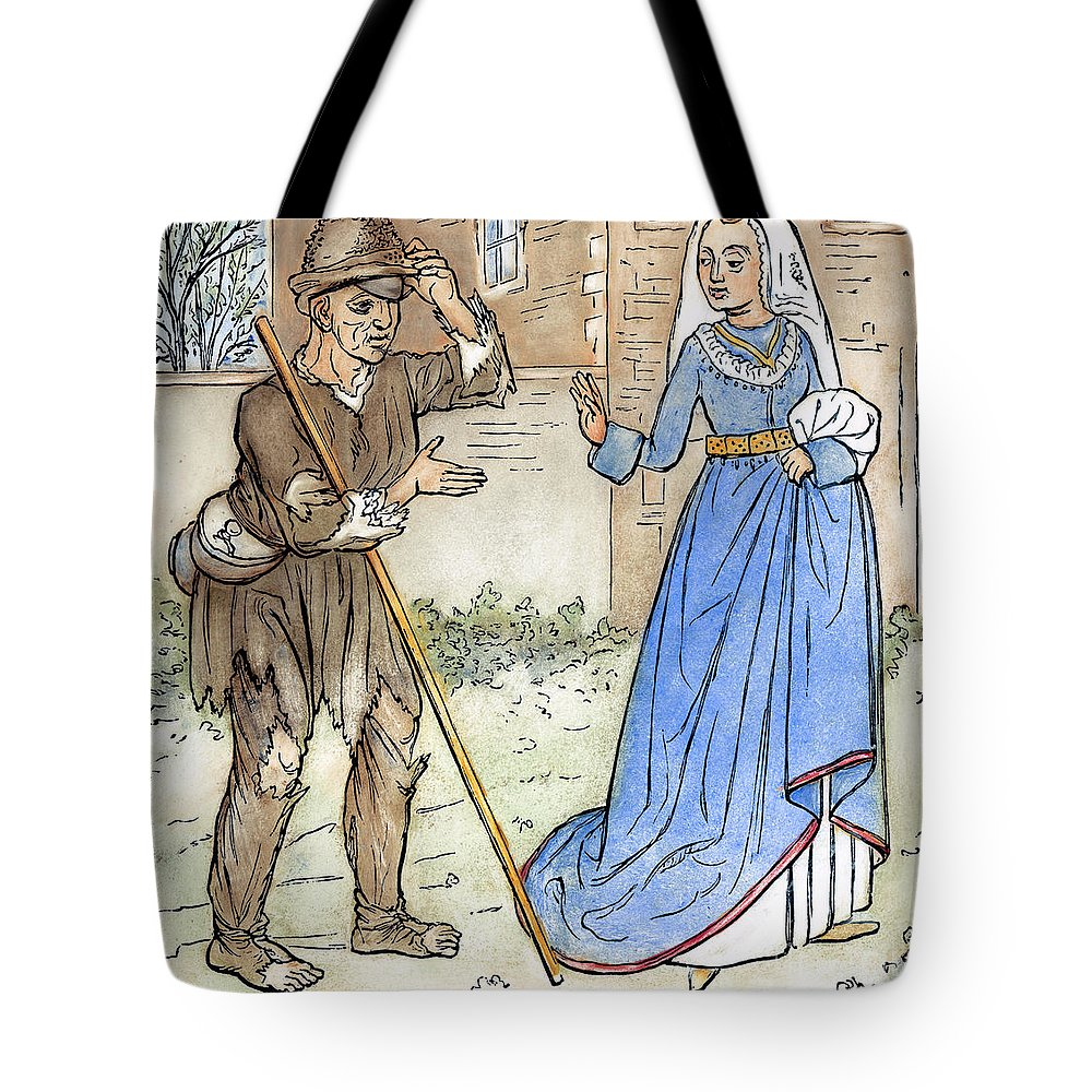 1330 Tote Bag featuring the photograph English Beggar, 1330 by Granger