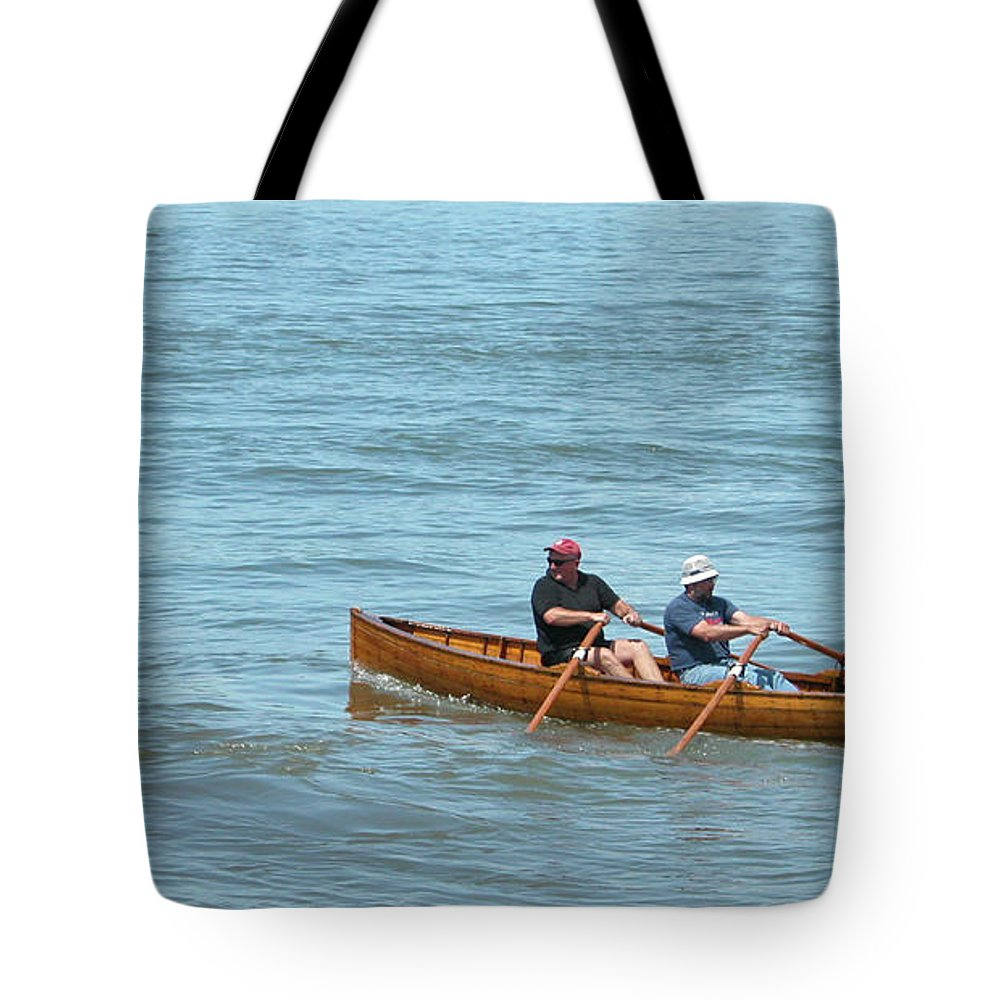 Guy Whiteley Tote Bag featuring the photograph Escape To Alcatraz by Guy Whiteley