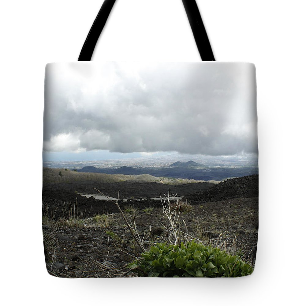 Tote Bag featuring the photograph Etna's Landscape by Donato Iannuzzi